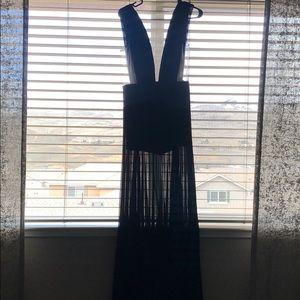 BEBÉ black dress